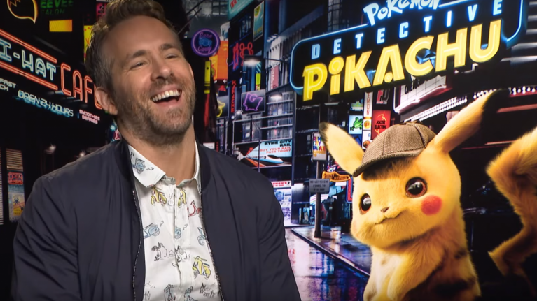 EXCLUSIVE: Ryan Reynolds on the adults-only blooper reel for Pokémon Detective Pikachu