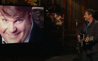 Adam Sandler's emotional tribute to his friend Chris Farley on SNL is beautiful