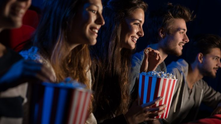 Study shows going to the cinema is the equivalent of a 'light' workout