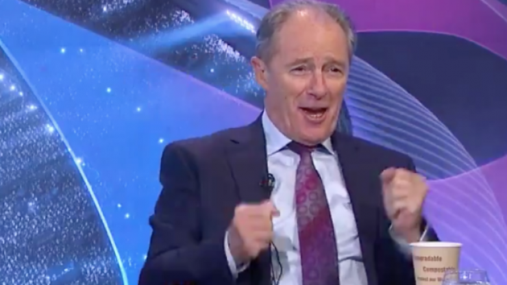 Brian Kerr's reaction to Spurs' last minute winner against Ajax is absolutely brilliant