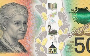 Australia prints typo on 46 million $50 notes