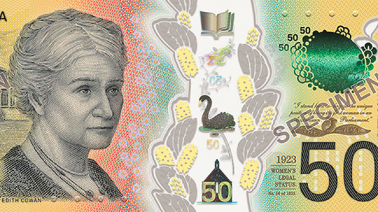 Australia prints typo on 46 million $50 notes