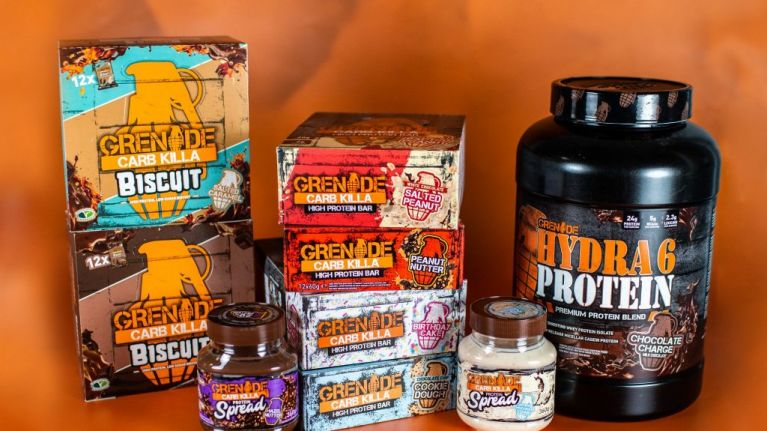 COMPETITION: Win a hamper with €250 worth of healthy snacks from Grenade®