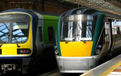 Irish Rail suspend a number of routes due to lightning damage