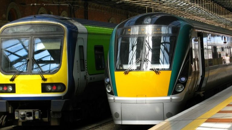 Irish Rail will not be allowing or selling alcohol on the following routes this Monday