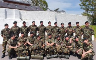 Irish naval squad to take part in loaded march to raise funds for neonatal facility in Cork