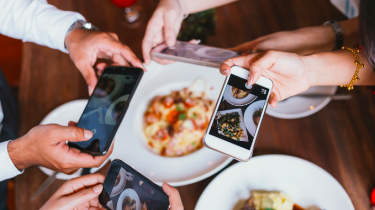 The top five most 'Instagrammed' foods on social media