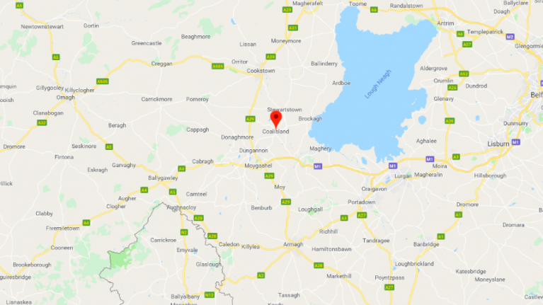 Two people escape serious injury following light aircraft crash in County Tyrone