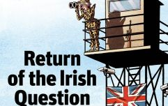 "British magazine cover on the ""Return of the Irish Question"" is getting a lot of hate online"