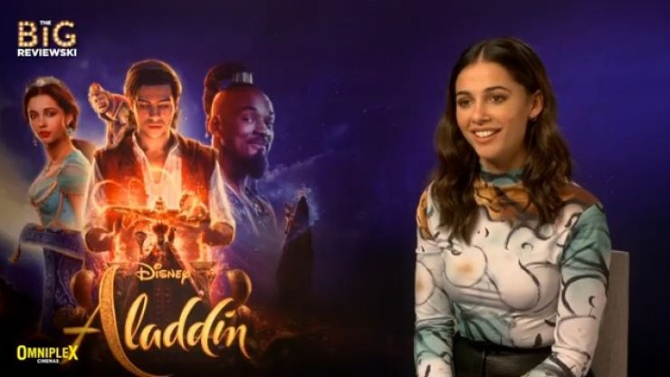 Naomi Scott's best friend's reaction to her being cast as Princess Jasmine is properly hilarious