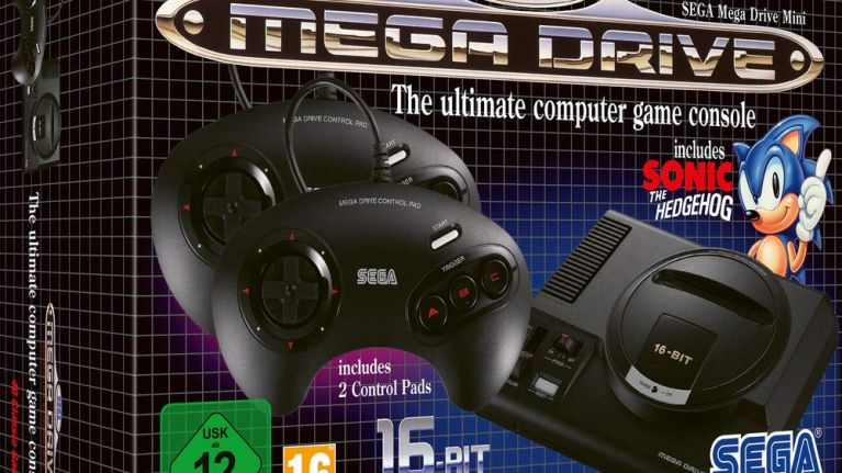 Street Fighter 2 and Golden Axe have been added to Sega's upcoming Mega Drive Mini