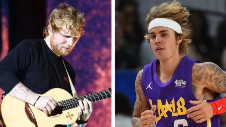 Ed Sheeran and Justin Bieber release new song together