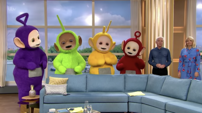 A comprehensive review of the Teletubbies' reunion performance on This Morning