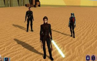 A movie based on Star Wars: Knights of the Old Republic is in the works