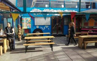 There is a petition to help save The Bernard Shaw's beer garden and Big Blue Bus area