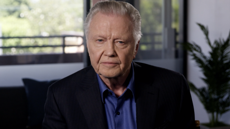"WATCH: Actor Jon Voight calls Donald Trump ""the greatest president since Abraham Lincoln"""