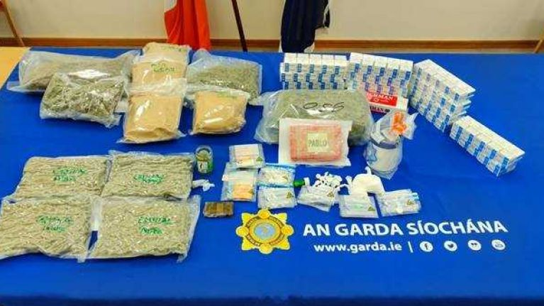 Over €200,000 worth of drugs seized in Dublin home