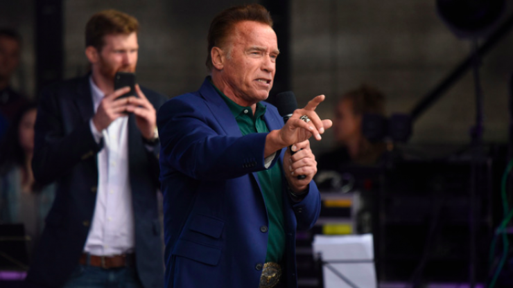 Arnold Schwarzenegger calls for greater drug-testing in bodybuilding