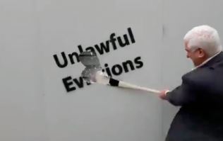 WATCH: MEP candidate Ben Gilroy releases video of himself smashing loads of stuff with a hurley