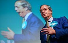 WATCH: Nigel Farage has been hit by a milkshake in Newcastle