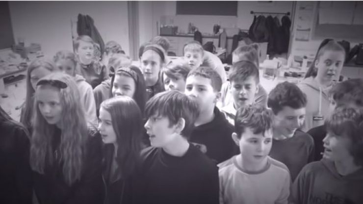 WATCH: Sixth class students cover Metallica ahead of imminent Slane visit