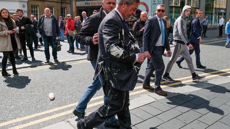 Burger King punished for Nigel Farage milkshake tweet