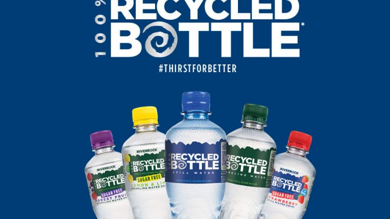 Deep RiverRock announce the launch of its first 100% recycled bottle range