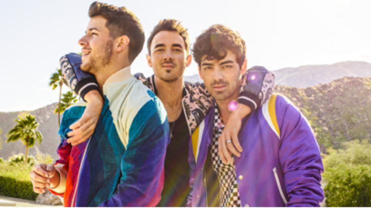 The Jonas Brothers have announced a massive Dublin gig