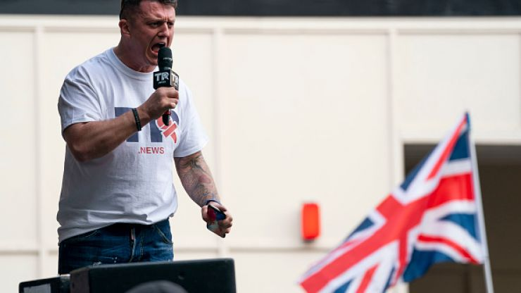 WATCH: Video appears to show Tommy Robinson punching football fan in Portugal