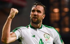 """""""Shane Duffy is right now everything for Ireland. His defence keeps us in it & when Denmark score, who steps up?"""""""