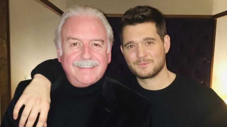 WATCH: Michael Bublé gives Marty Whelan birthday surprise at 3Arena gig