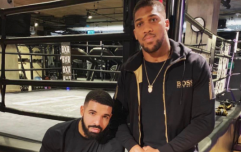 It looks like Anthony Joshua is the latest victim of the Drake Curse