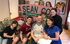 Congratulations issued to Liverpool on behalf of Seán Cox