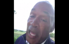 WATCH: OJ Simpson posts video announcing that he's joining Twitter