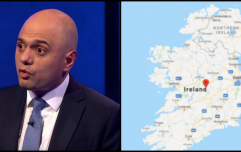"UK Home Secretary reaffirms his view that the UK should ""pay all costs of a new border"" in Ireland"