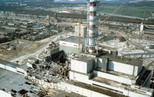 Sky are showing a documentary on the real Chernobyl featuring the people involved in the tragedy