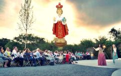 """""""Could someone please put out the Child of Prague?"""" - Staging Shakespeare during a typically Irish summer"""