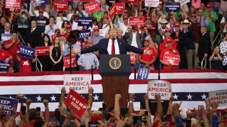 Donald Trump has officially begun his re-election campaign