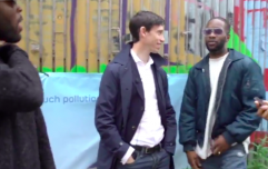 WATCH: Tory leadership candidate posts awkward video of him meeting three guys from Dublin
