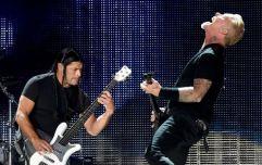 Metallica make two big Irish charity donations before Slane gig