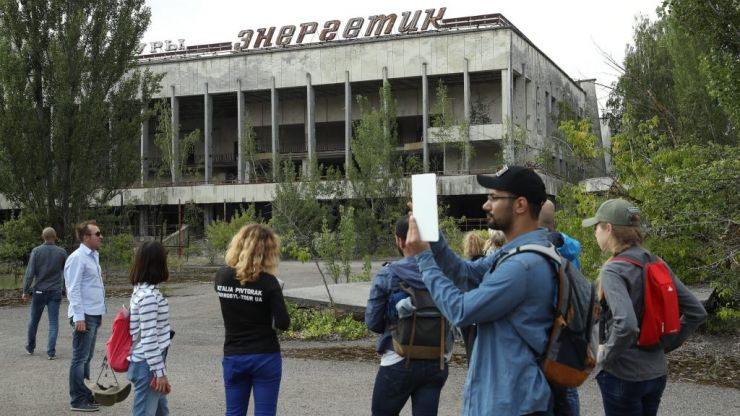 Instagram tourists are now flocking to Chernobyl