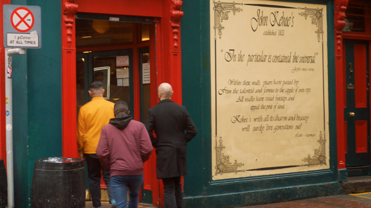 WATCH: Dublin pubs, where time flies but is never wasted