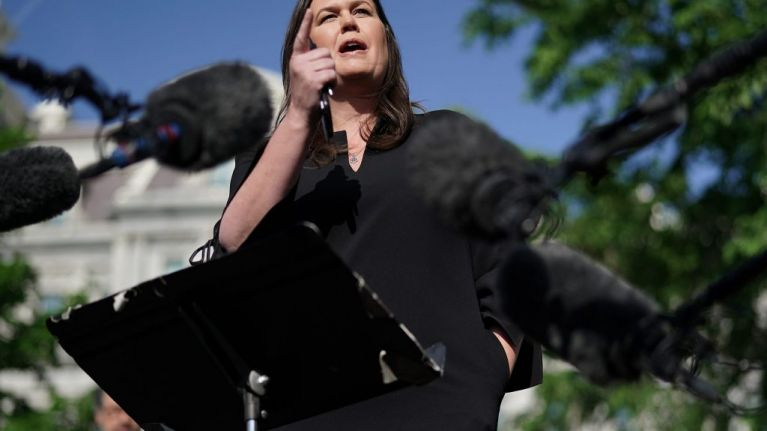 Sarah Sanders to step down as White House press secretary