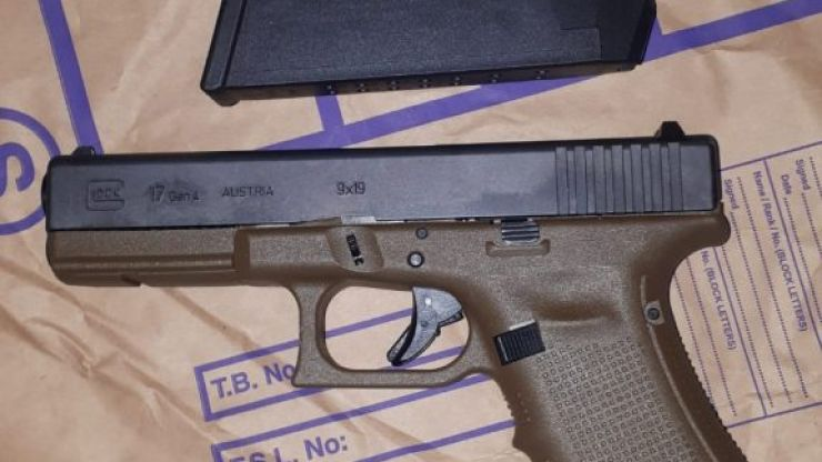 Two men arrested as guns and ammunition seized in West Dublin