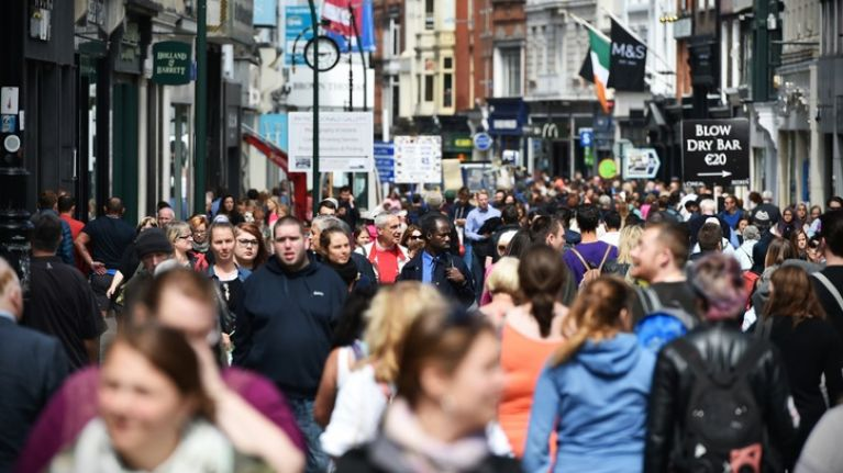Population of Ireland to rise to as high as 5.8 million by 2036