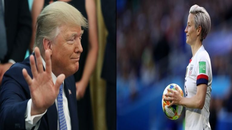 WATCH: Megan Rapinoe delivers extremely powerful message to Donald Trump