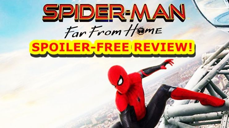 The Big Reviewski Ep24 with your SPOILER-FREE review of Spider-Man: Far From Home