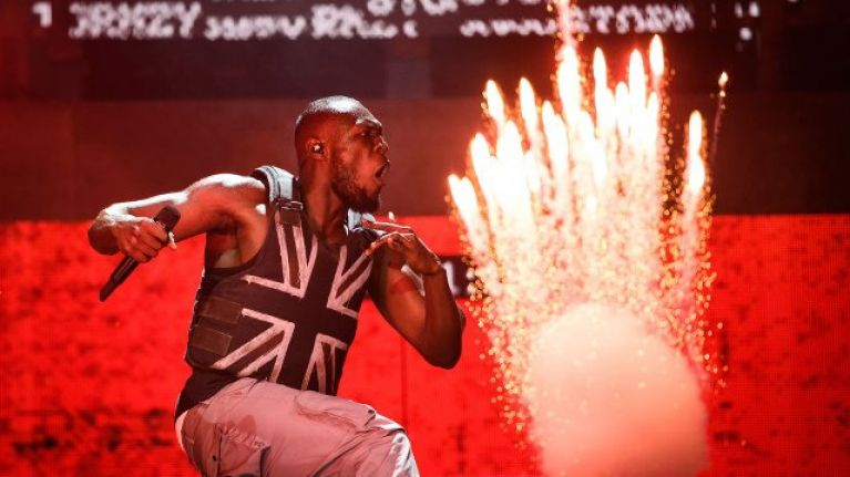 There was a huge reaction to Stormzy's incredible Glastonbury headline set