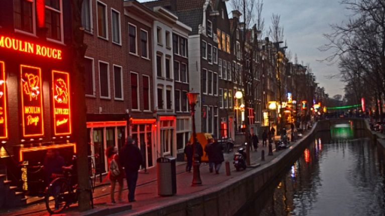 The mayor of Amsterdam is considering big changes to its Red Light District