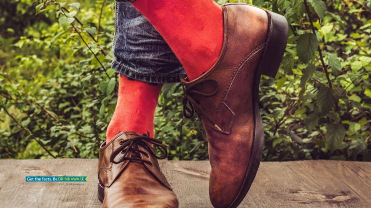 People wearing red socks can get a free Smithwick's this weekend